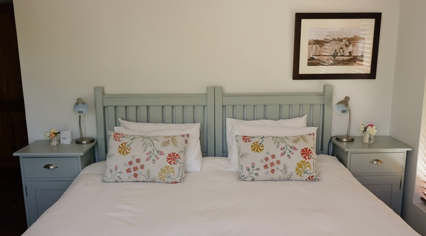 King beds, white linen,spacious rooms with free wi-fi and aircon