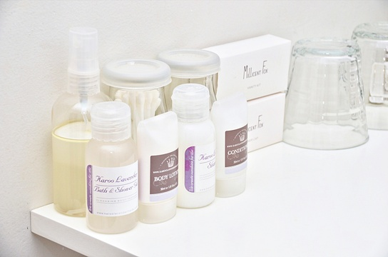 Complimentary toiletries from Karoo Lavender Fields